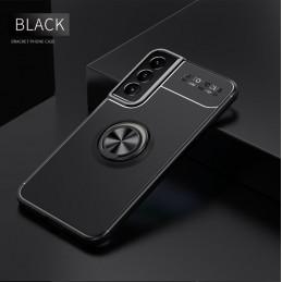 Maqueta de cámara réflex digital de mano